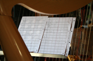 """Harpe (Enregistrement des albums """"La Barque ailée et l'Albatros"""""""